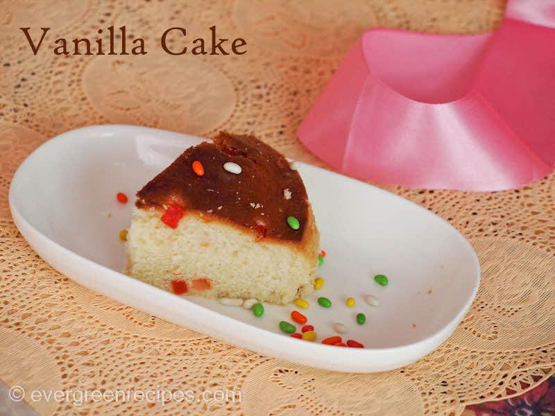 Cherry Cake Recipe Joy Of Baking: Vanilla & Cherry Cake