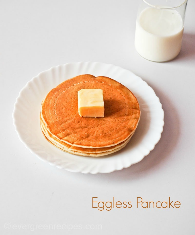 Pancake recipe eggless in hindi