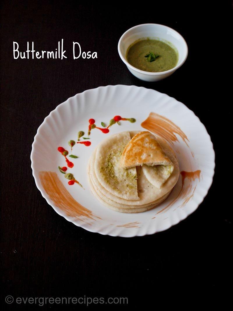 Buttermilk dosa recipe dosa recipe forumfinder Image collections
